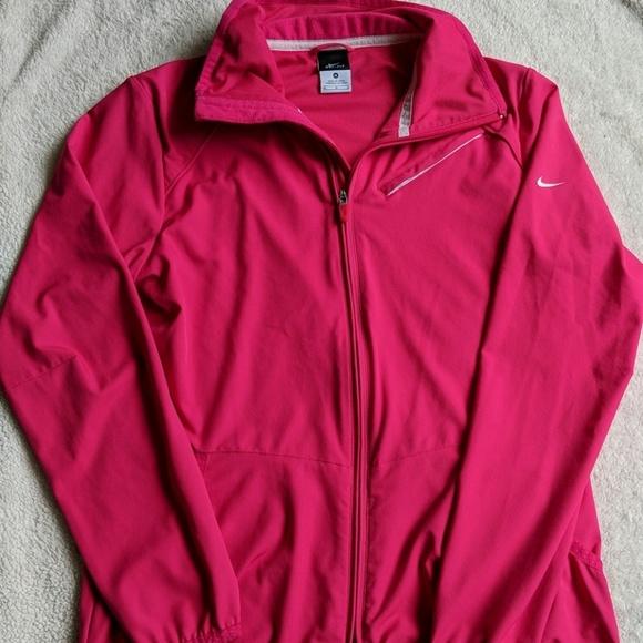 Nike Jackets & Blazers - Nike Dri-Fit Pink Lightweight Jacket